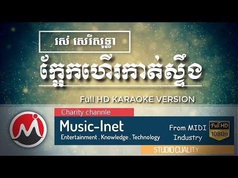 ក្អែកហើរកាត់ស្ទឹង ភ្លេងសុទ្ធ រស់ សេរីសុទ្ធា - Kaek Her Kat Stueng Plengsot - karaoke