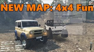 Spin Tires NEW MAP | 4x4 FUN