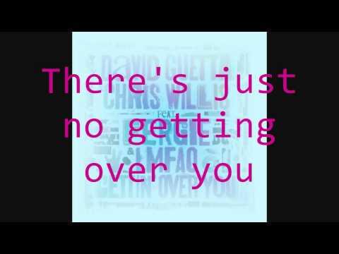 Gettin' Over You (Lyrics)- David Guetta