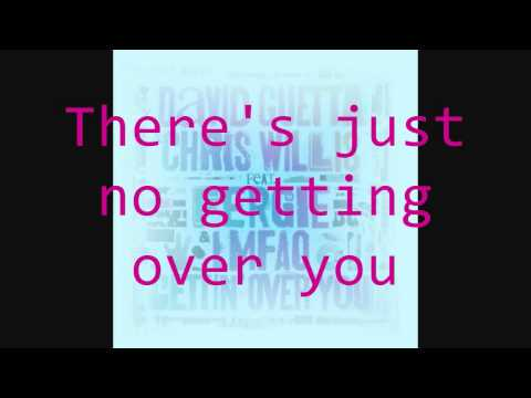 Gettin' Over You (Lyrics)- David Guetta
