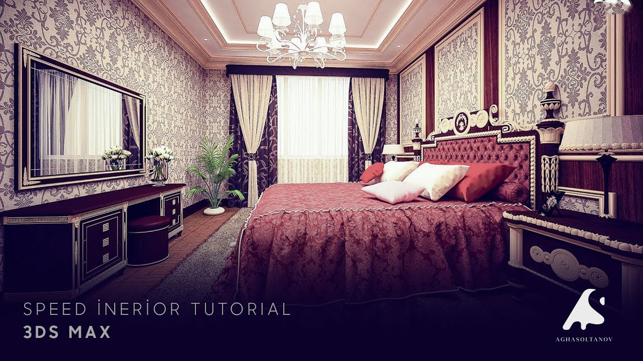 3D Speed Classic Interior Modeling,Rendering,Vray3.2