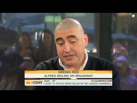 Alfred Molina Discusses RED On Broadway With Kathie Lee & Hoda Kotb