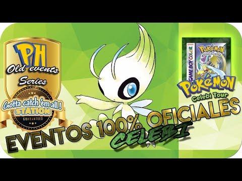 ¡EVENTOS DE CELEBI 100% OFICIALES! / OLD EVENTS SERIES [Pokémon Hispania]