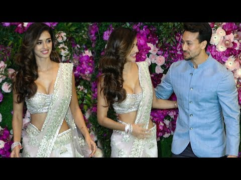 Tiger shroff with his H0T Girlfriend Disha Patani At akash ambani wedding