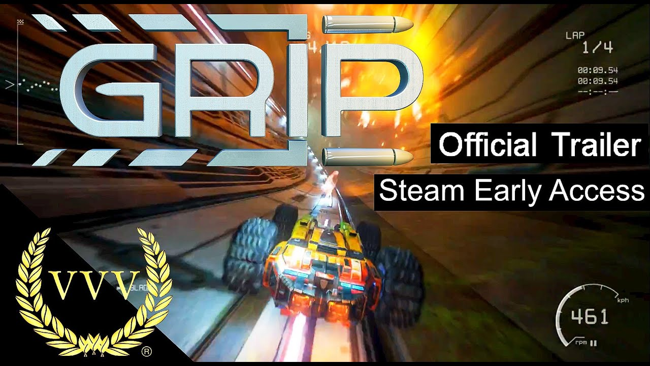 GRIP  Combat Racing - Steam Early Access - Official Launch Trailer ... 3076238f9a6