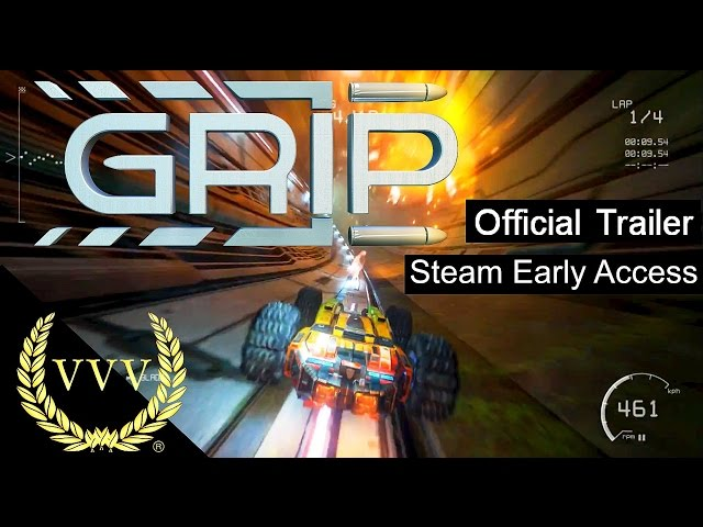 GRIP: Combat Racing - Steam Early Access - Official Launch Trailer
