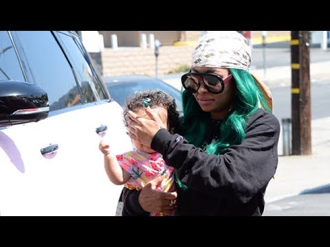 Blac Chyna Takes Dream To The Salon Amid Rob Kardashian Revenge Drama
