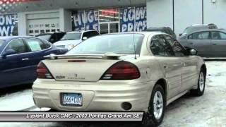 2002 Pontiac Grand Am SE Golden Valley MN LJLB3195A