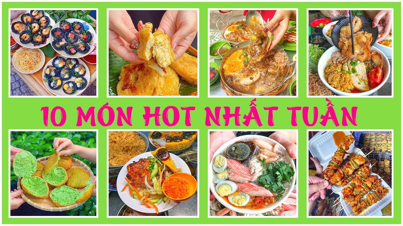 Đã cơn thèm với 10 MÓN HOT NHẤT TUẦN đang gây bão rần rần hội foodbiz Sài Gòn | Địa điểm ăn uống