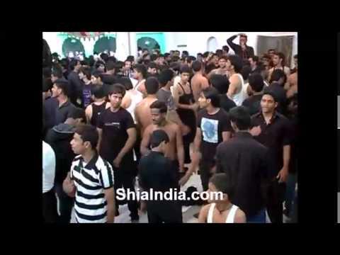 Groh e Jaffery Agha Abbasi Matam at Paril Mahal 7th Muharram 2013