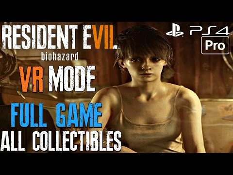 Resident Evil 7 - Gameplay Walkthrough Part 1 FULL GAME PS VR (All Collectibles & Antique Coins)