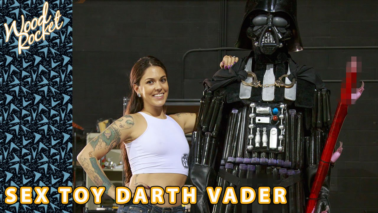 Darth Vader NO Darth Vibrader fatto di  Sex Toys