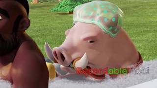 clash of clans Best Friends attack 2016 video