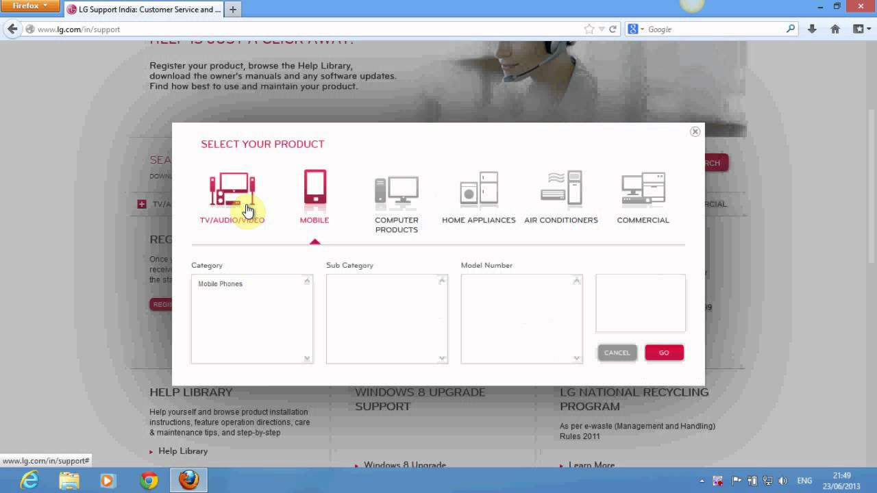 Lg pc suite download.