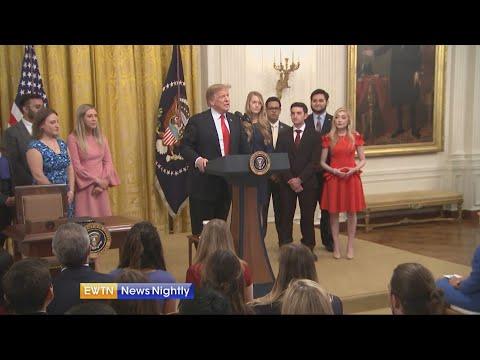 President Trump encourages free speech at college - ENN 2019-03-21