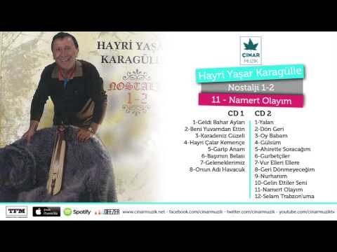 Hayri Yaşar Karagülle - Namert Olayım (Official Lyrics Video)