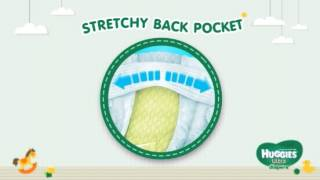 Diapers: stretchy