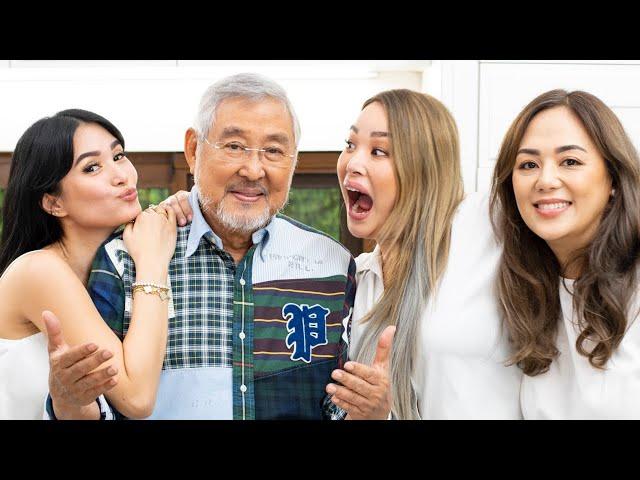 MY DAD SHARES HIS SECRET BAGOONG RECIPE FT. ATE CAM AND ATE MICH | Heart Evangelista