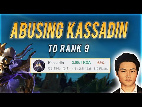DOPA hits RANK 9 Before being BANNED?  Kassadin Review