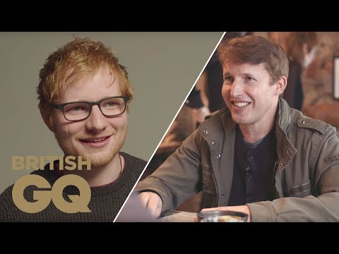 James Blunt Says He 'Cut Ed Sheeran to Reclaim My Pop Crown' | Out To Lunch | British GQ