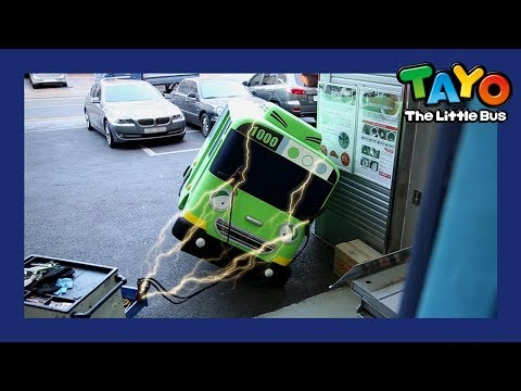 Tayo Hates Auto Repair Shop l Tayo in Real Life #10 l Tayo the Little Bus