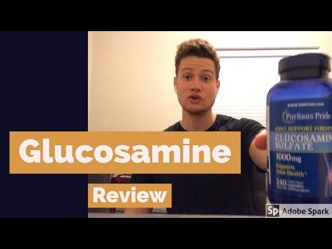 Glucosamine Sulfate Review - My Experience