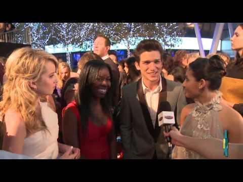 Francia Raisa Puts Daren Kagasoff On the Spot at People's Choice Awards