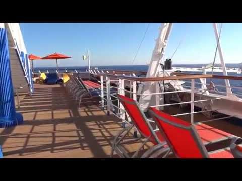 Carnival Sunshine Deck 10 Spa