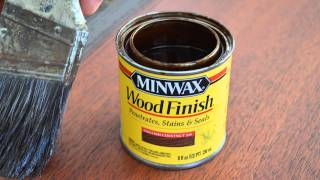 How To Refinish A Mahogany Table Top