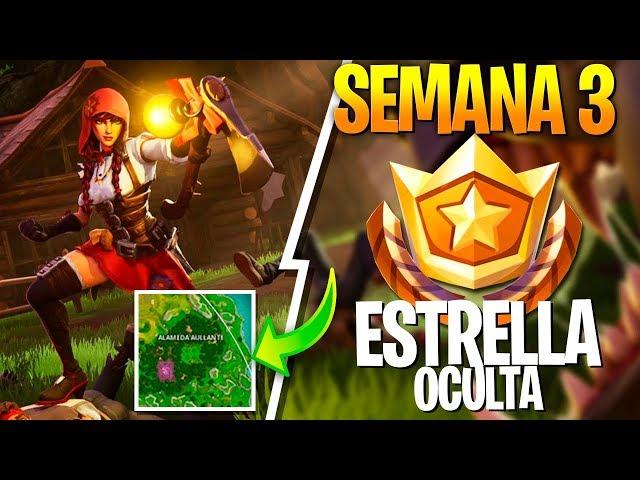 ESTRELLA OCULTA SEMANA 3 *PANTALLA DE CARGA* - Temporada 6 Fortnite