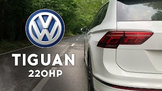 VW Tiguan 220 сил - истинная мощь Германии! Разгон 0 - 100