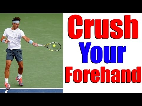 Crush Your Forehand With Power & Consistency - Tennis Lesson 🎾