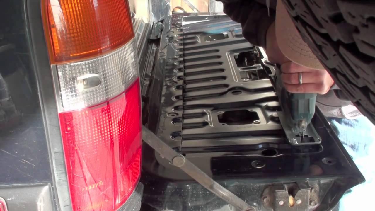 Wagongear Tailgate Install On My Lx450 Youtube