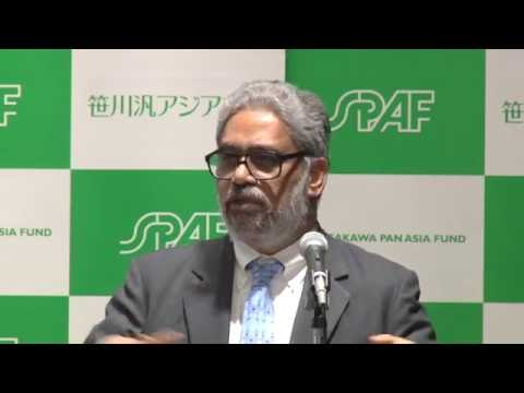 """Dr. C. Raja Mohan """"Connecting Asia: Prospects for India-Japan Partnership"""""""