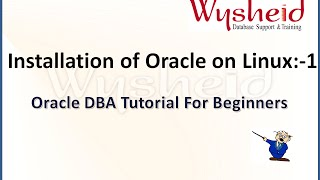 Oracle 11g installation on linux -1