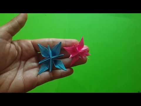 How to Make Paper Flora   Crafty Making Paper Flora   DIY Flora Easy with Paper Step by Step at Home