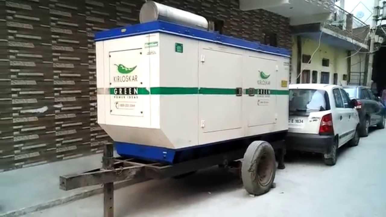 62 KVA Kirloskar Diesel Generator on Rent in Delhi NCR