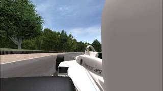 Rfactor Mercedes/Reynard 98i at Road America
