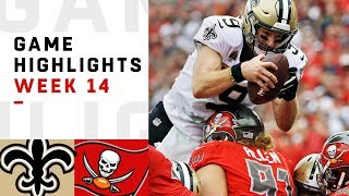 Saints vs. Buccaneers Week 14 Highlights
