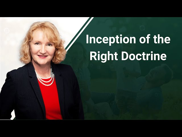 Inception of the Right Doctrine