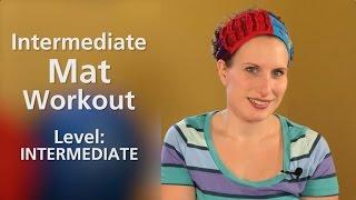 Intermediate Mat Workout Heidi Miller Pilates