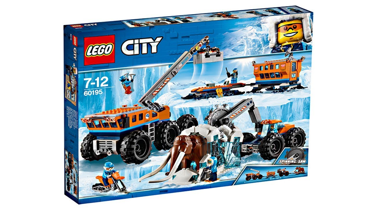 32559663c42d LEGO City Arctic 2018 Summer sets pictures! - YouTube
