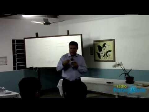 """Palestra """"Vencendo Aflições"""", com Simão Pedro de Lima (Patrocínio-MG)."""
