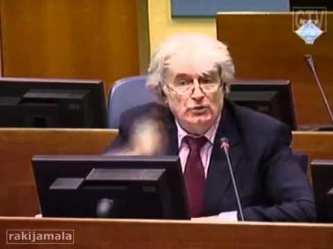 Radovan Karadžić Srbi nisu htjeli Veliku Srbiju !