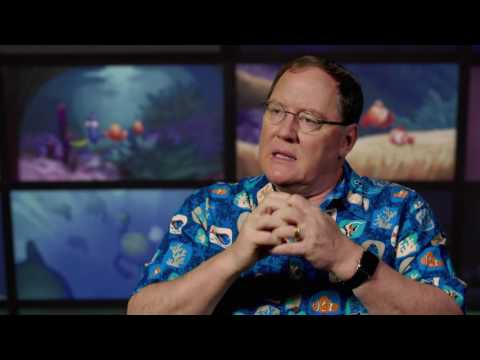 Finding Dory: Exec Producer John Lasseter Behind the Scenes Movie Interview