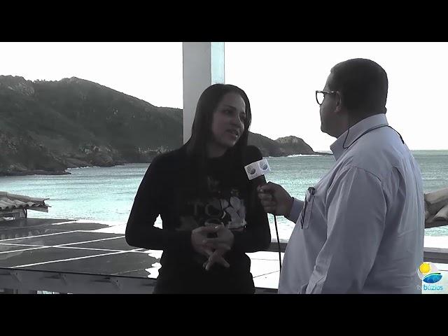 Entrevista com a Presidente da Câmara de Búzios Vereadora Joice Costa