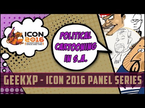 ICON 2016  Political Cartooning In South Africa
