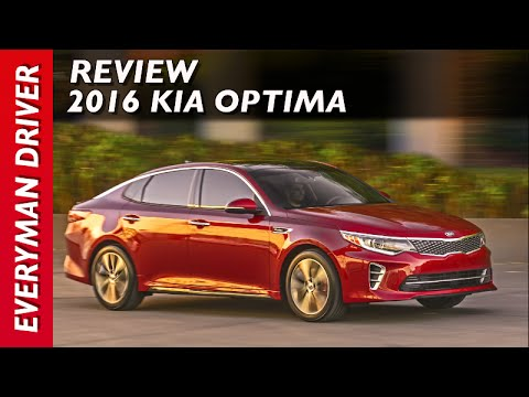 Review: 2016 Kia Optima on Everyman Driver
