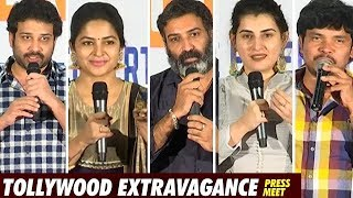 Tollywood Extravagance Press Meet | Siva Balaji | Sampoornesh Babu | Archana | Top Telugu Media