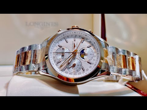 [ Review Đồng Hồ ] Longines Conquest Classic Moonphase L2.798.5.72.7 ( L27985727) | TIMEWISE